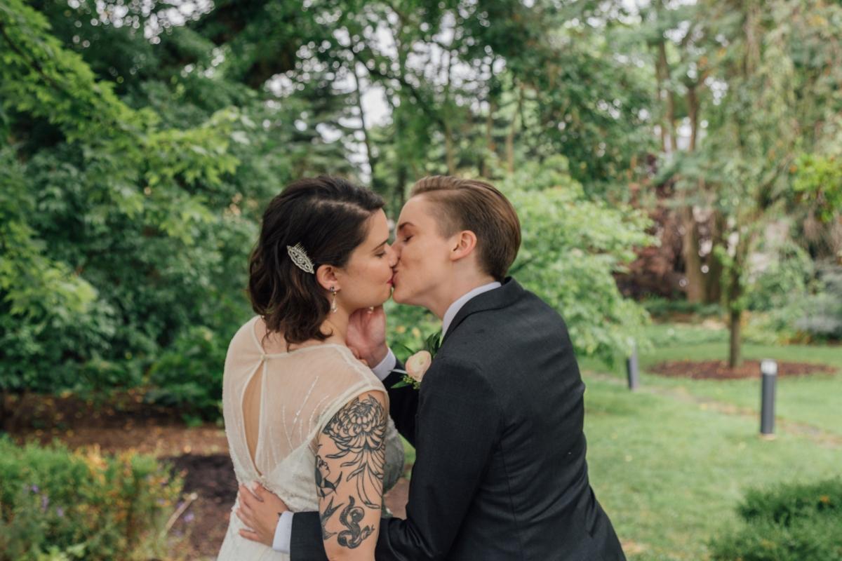 Oak Park Cheney Mansion Wedding Chicago