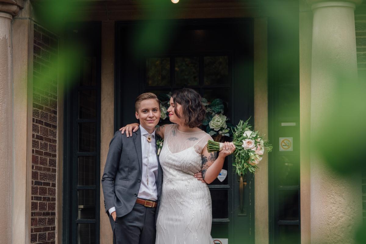 Chicago Wedding LGBT Cheney Mansion