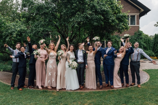 Chicago Lesbian Wedding Cheney Mansion