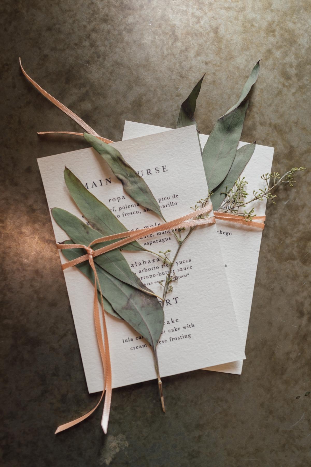 DIY Wedding Stationery