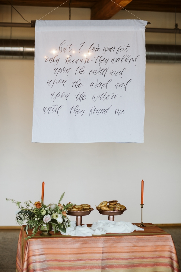 Calligraphy Sign for Wedding