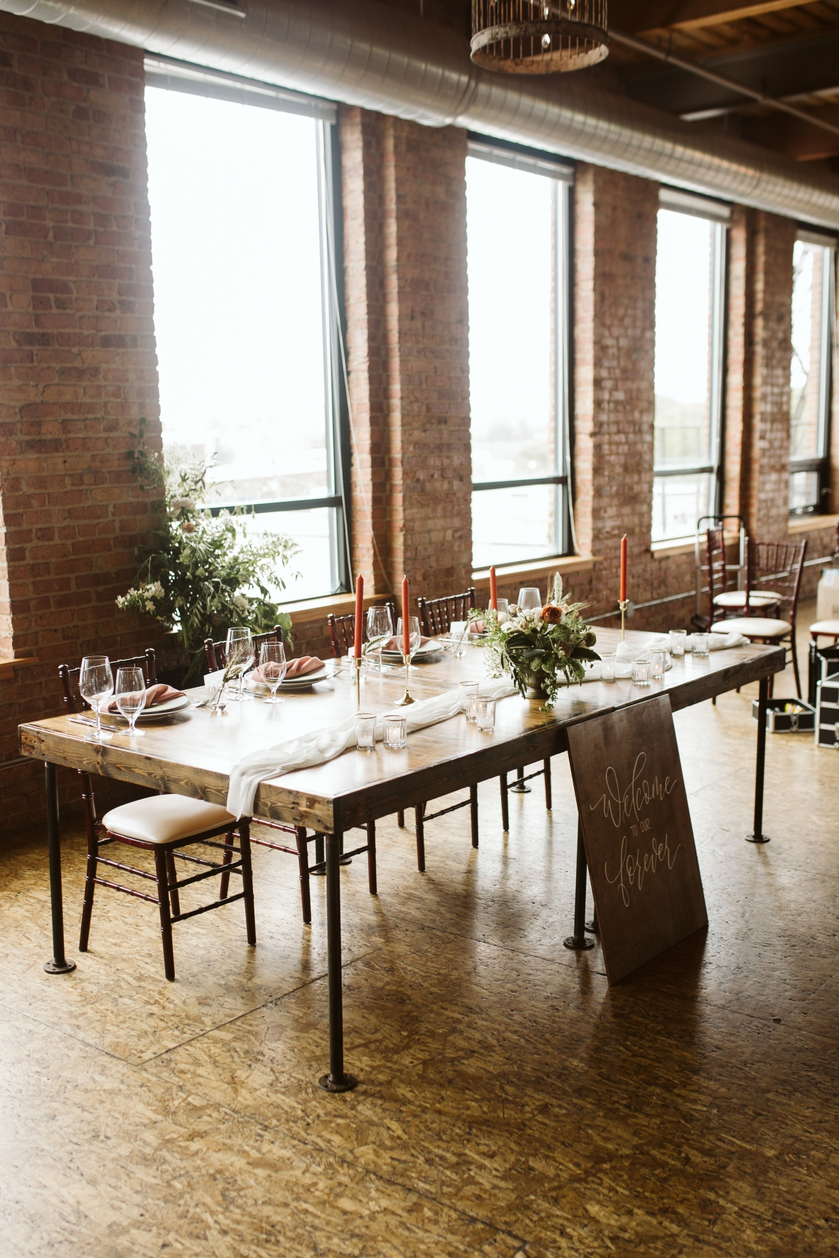 Chicago Industrial Wedding Inspiration Lillian Rose Events
