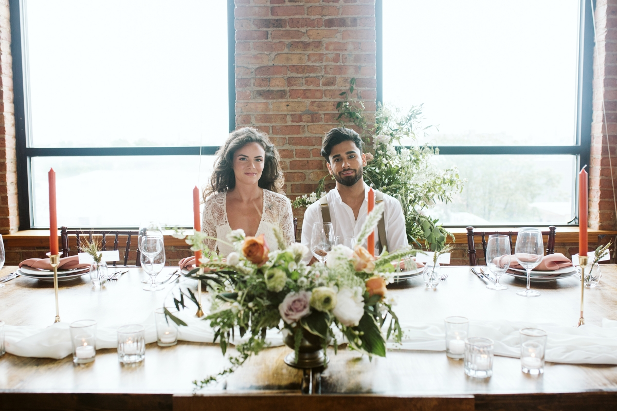 Chicago Industrial Loft Wedding Inspiration