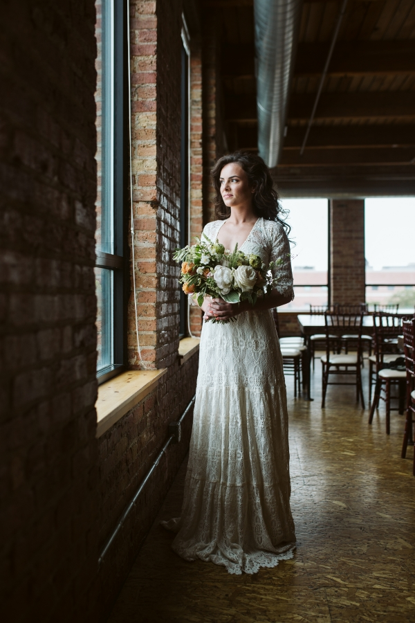 Bride in Dame Couture