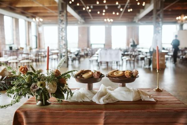 Mini Dessert Table for Wedding Chicago Loft