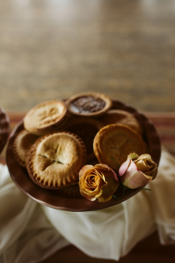 Mini Pies for Wedding