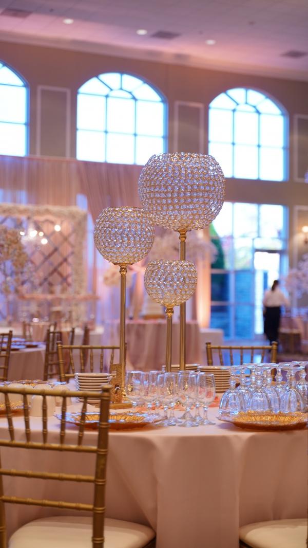 Gold Wedding Centerpiece