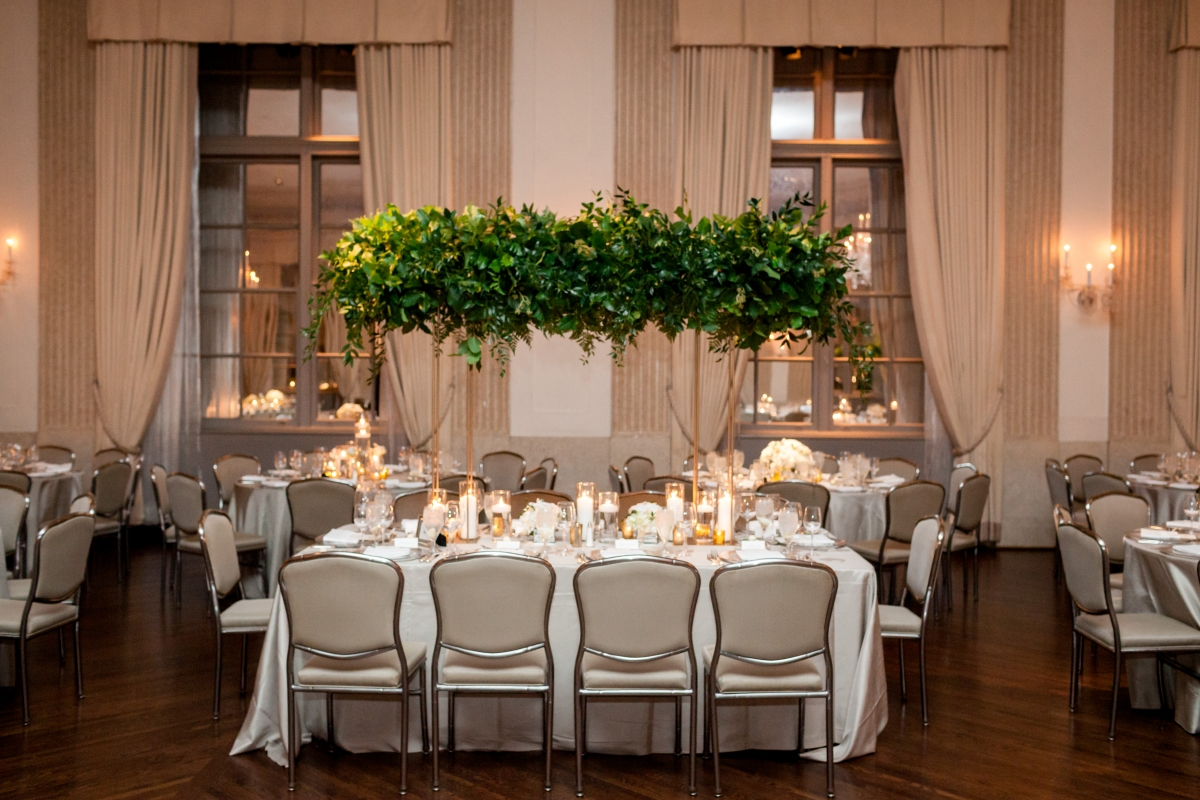 Fall Chicago Wedding at The Standard Club 21