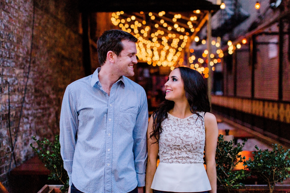 Engagement Session Around Downtown Chicago