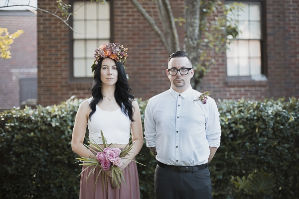 Backyard Savannah Wedding