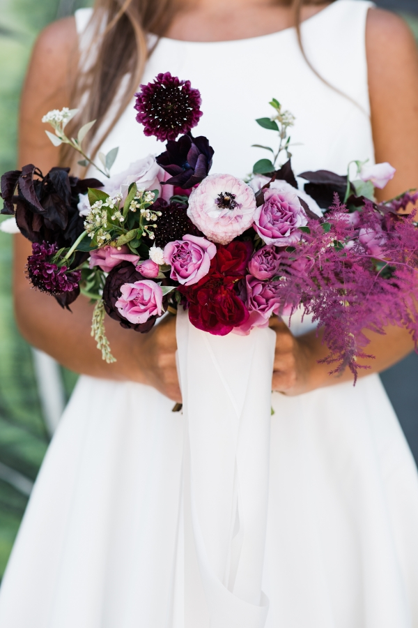 Modern Colorful Chicago Wedding Inspiration The Lakewood (25)