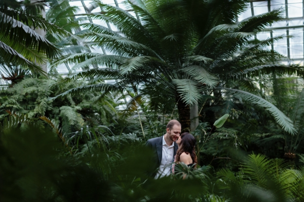 Garfield Park Conservatory Engagement Session
