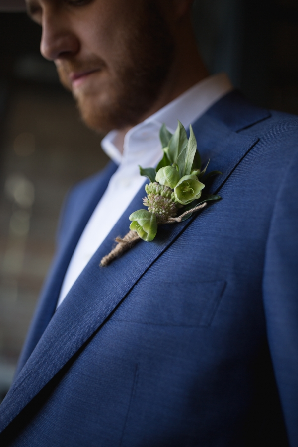 Boutonniere for the Dapper Groom