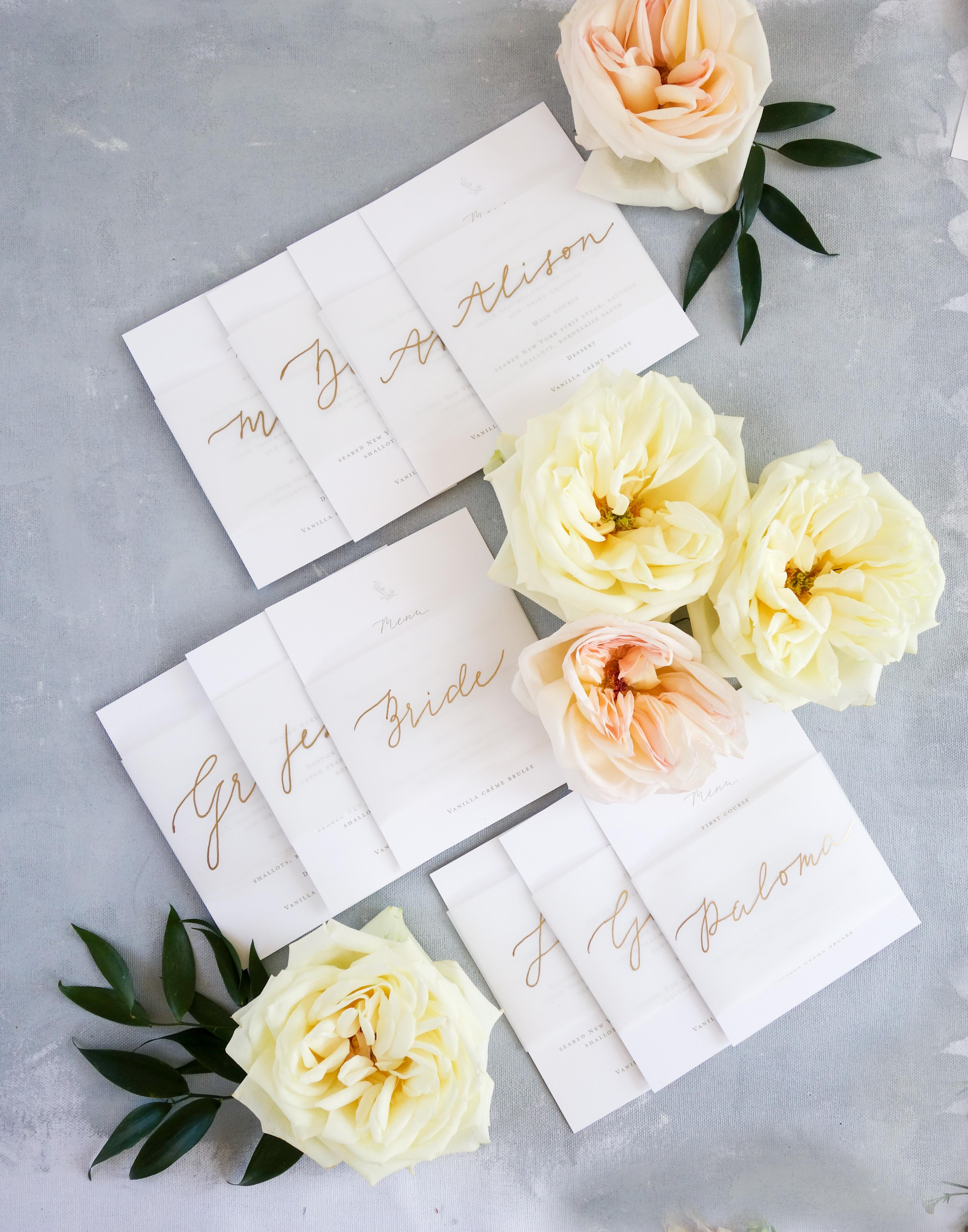 Chicago Calligrapher Chicago Wedding Invitations (13)
