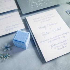 Chicago Calligrapher Chicago Wedding Invitations (15)