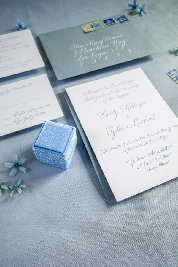 Chicago Calligrapher Chicago Wedding Invitations (15)