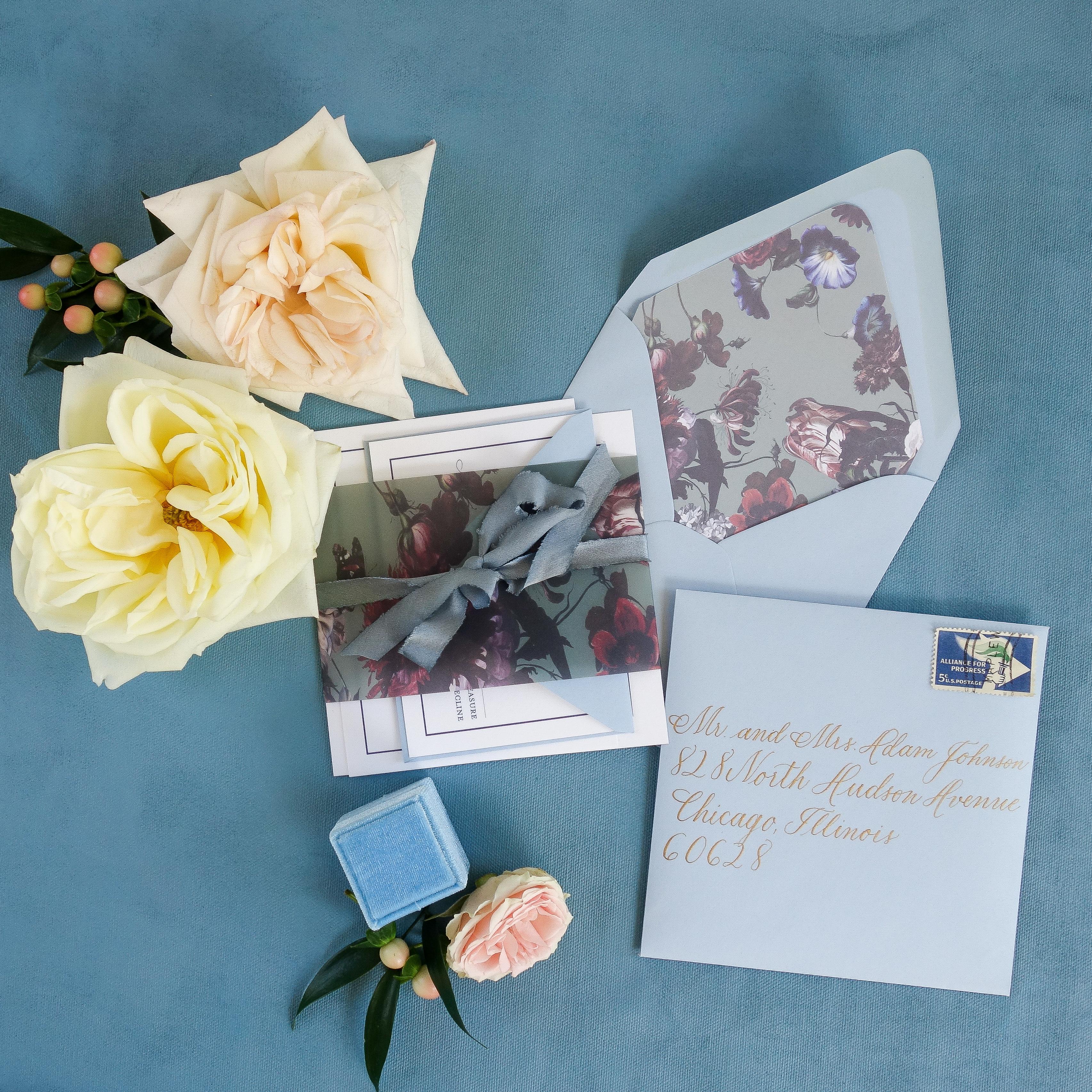 Chicago Calligrapher Chicago Wedding Invitations (3)