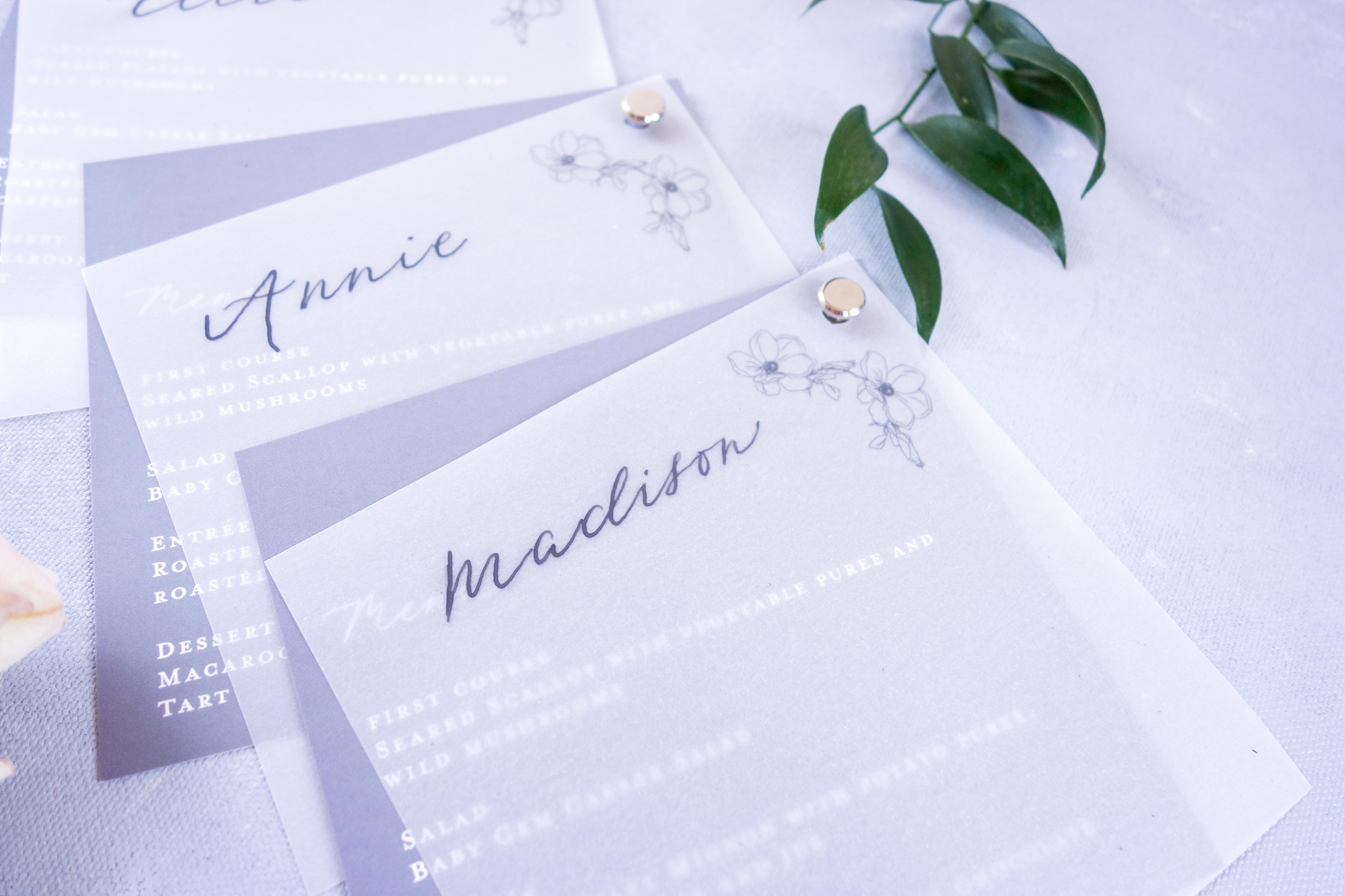 Chicago Calligrapher Chicago Wedding Invitations (6)