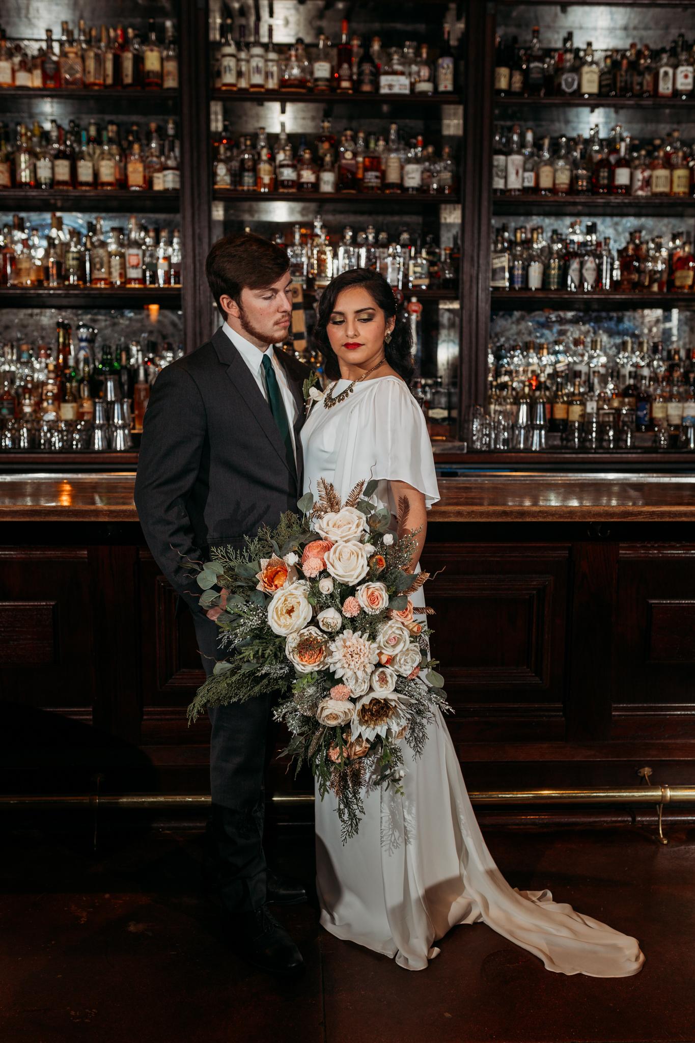 Chicago Speakeasy Wedding Inspiration (24)