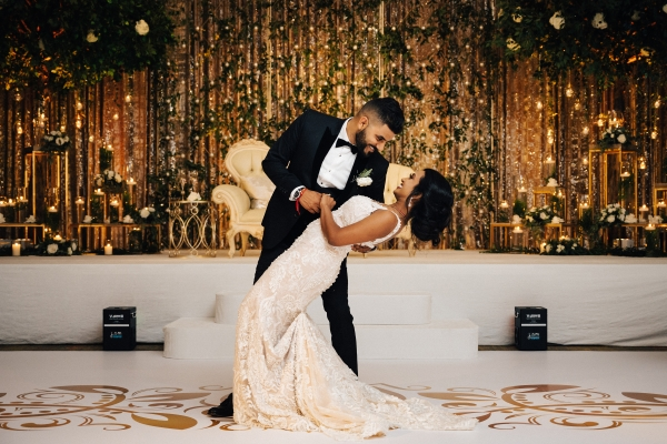 Glamorous Chicago Indian Wedding