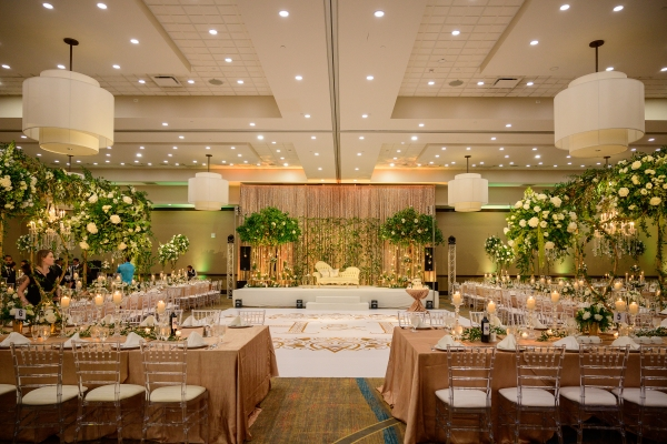 Naperville Indian Wedding Reception