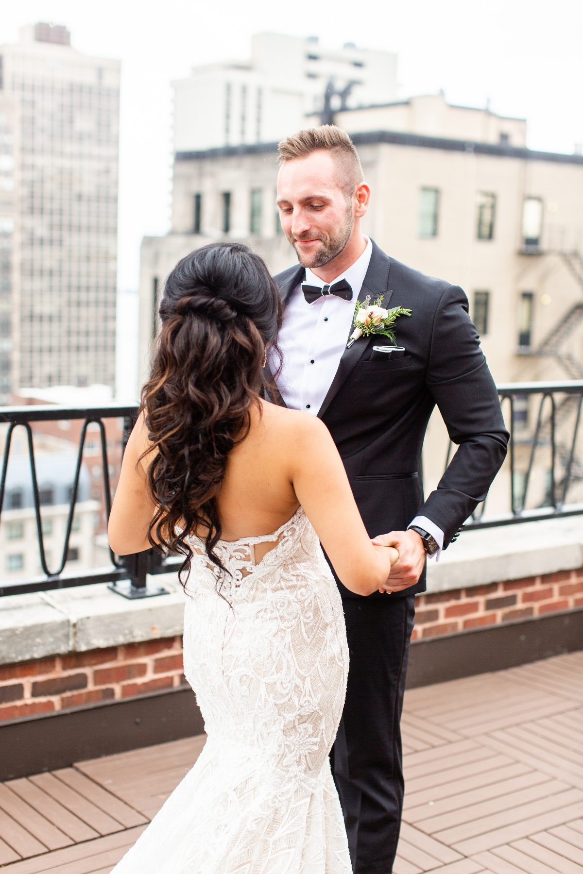 Ravenswood Event Center Chicago Wedding Alexandra Lee Photography 10