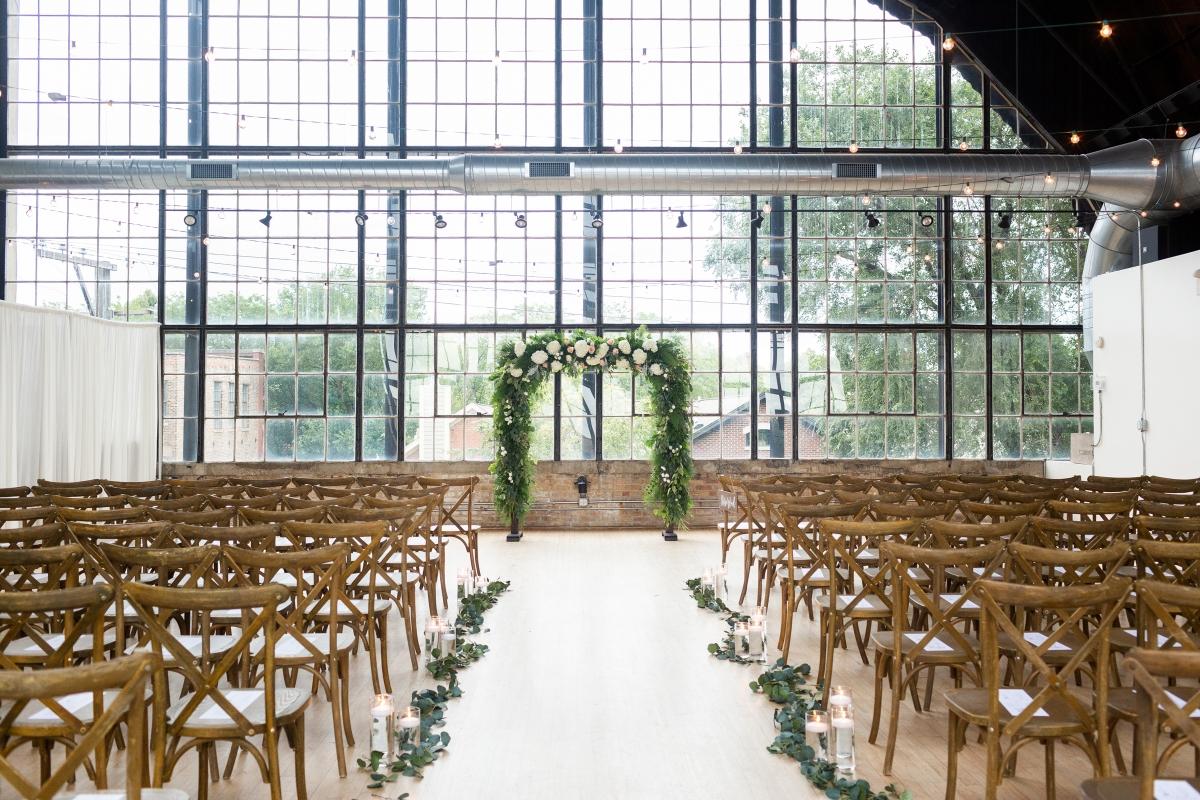 Ravenswood Event Center Chicago Wedding Alexandra Lee Photography 2