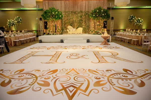 Wedding Dance Floor Monogram