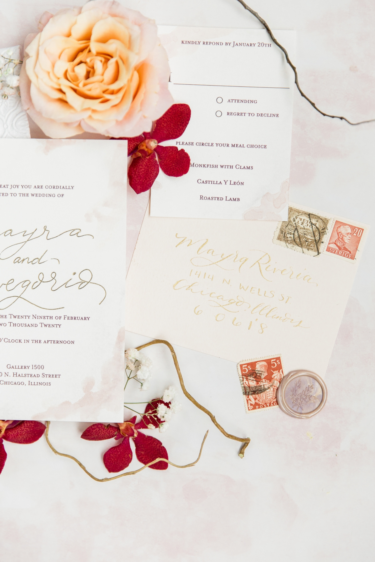 Colorful Spanish Wedding Inspiration Lakeshore in Love Photography by Lauryn 11