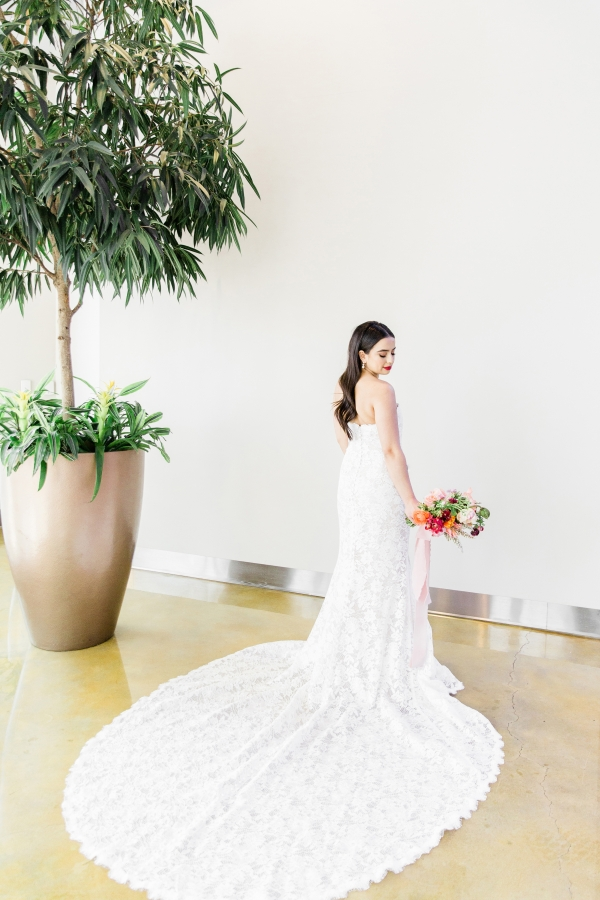 Colorful Spanish Wedding Inspiration Lakeshore in Love Photography by Lauryn (129)