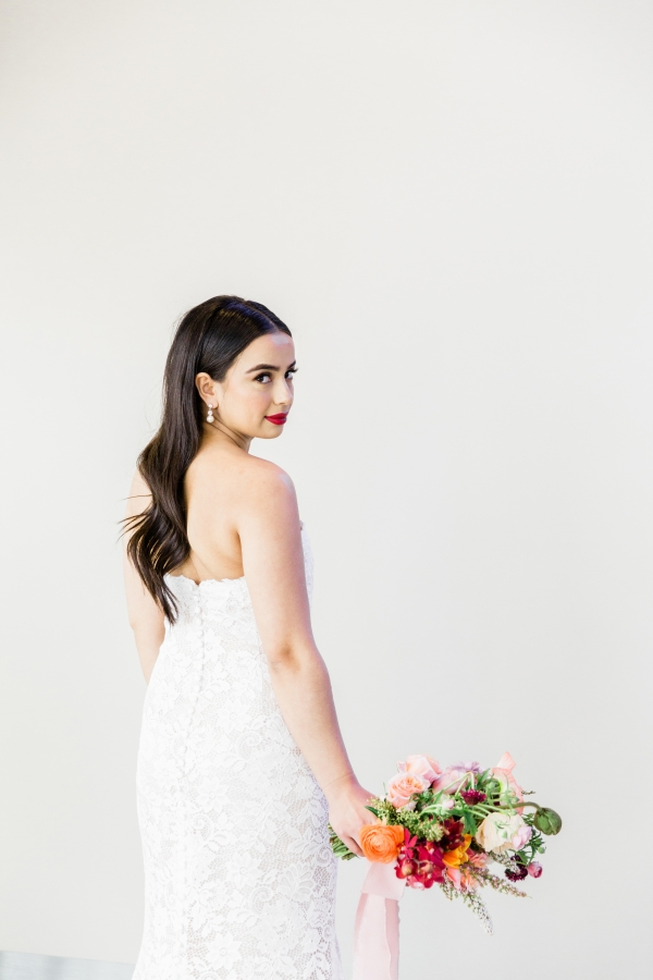 Colorful Spanish Wedding Inspiration Lakeshore in Love Photography by Lauryn (131)