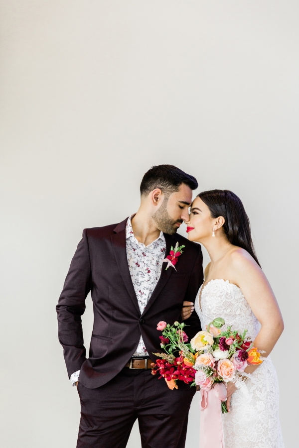 Colorful Spanish Wedding Inspiration Lakeshore in Love Photography by Lauryn (138)