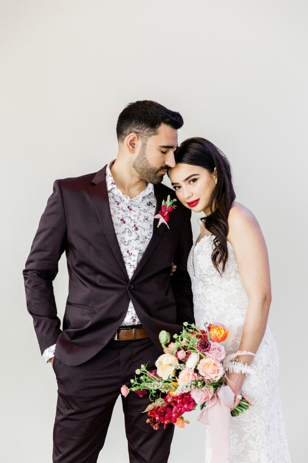 Colorful Spanish Wedding Inspiration Lakeshore in Love Photography by Lauryn (150)