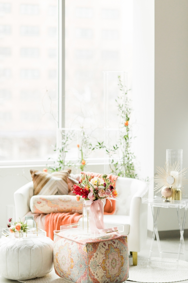 Colorful Spanish Wedding Inspiration Lakeshore in Love Photography by Lauryn (183)