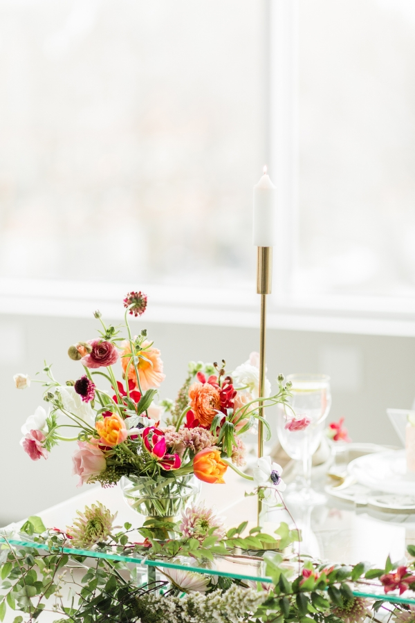 Colorful Spanish Wedding Inspiration Lakeshore in Love Photography by Lauryn (190)