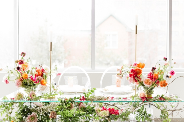 Colorful Spanish Wedding Inspiration Lakeshore in Love Photography by Lauryn (215)