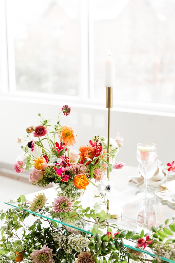 Colorful Spanish Wedding Inspiration Lakeshore in Love Photography by Lauryn (228)