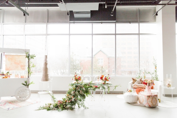 Colorful Spanish Wedding Inspiration Lakeshore in Love Photography by Lauryn (244)