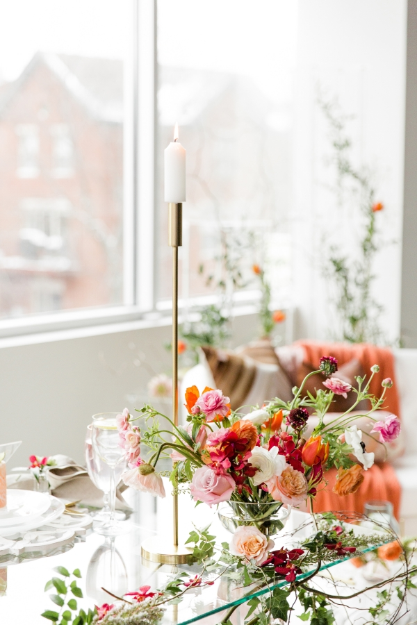 Colorful Spanish Wedding Inspiration Lakeshore in Love Photography by Lauryn (268)