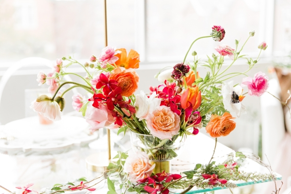 Colorful Spanish Wedding Inspiration Lakeshore in Love Photography by Lauryn (286)