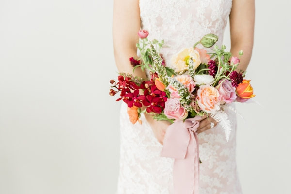 Colorful Spanish Wedding Inspiration Lakeshore in Love Photography by Lauryn (55)