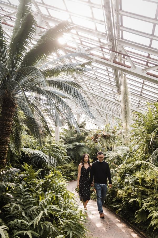Garfield Park Conservatory Engagement Photos Sara Gardner (12)