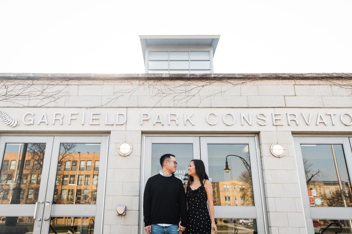 Garfield Park Conservatory Engagement Photos Sara Gardner 29