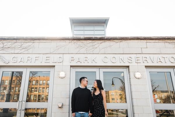 Garfield Park Conservatory Engagement Photos Sara Gardner (29)
