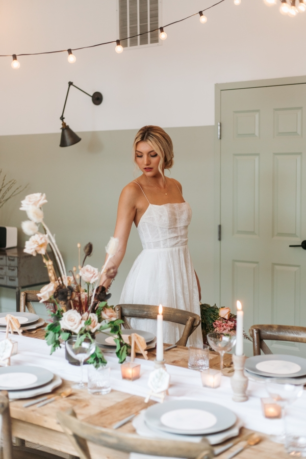 Calming Nature Styled Shoot at Eden Chicago