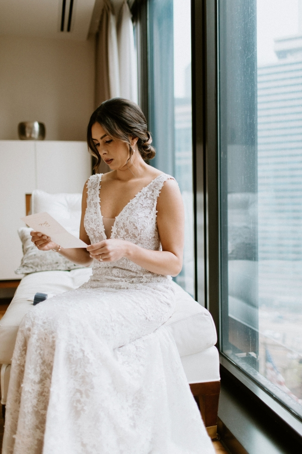 Tuscany Wedding Vibes in Chicago at Galleria Marchetti