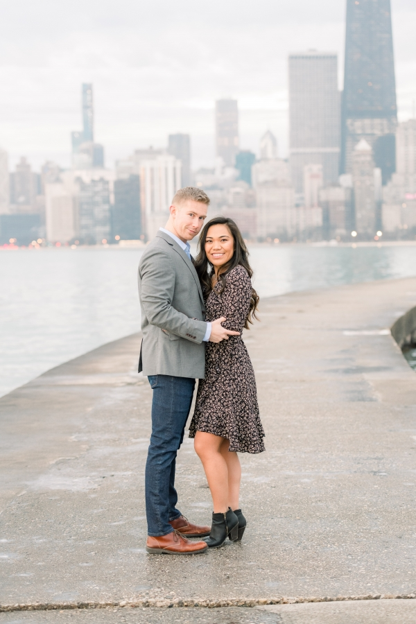 Melissa-Chris-North-Ave-Beach-Lincoln-Park-Chicago-Engagement-15