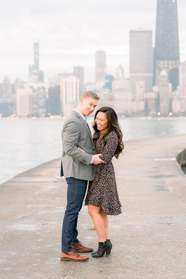 Melissa-Chris-North-Ave-Beach-Lincoln-Park-Chicago-Engagement-21