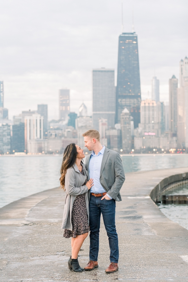 Melissa-Chris-North-Ave-Beach-Lincoln-Park-Chicago-Engagement-6