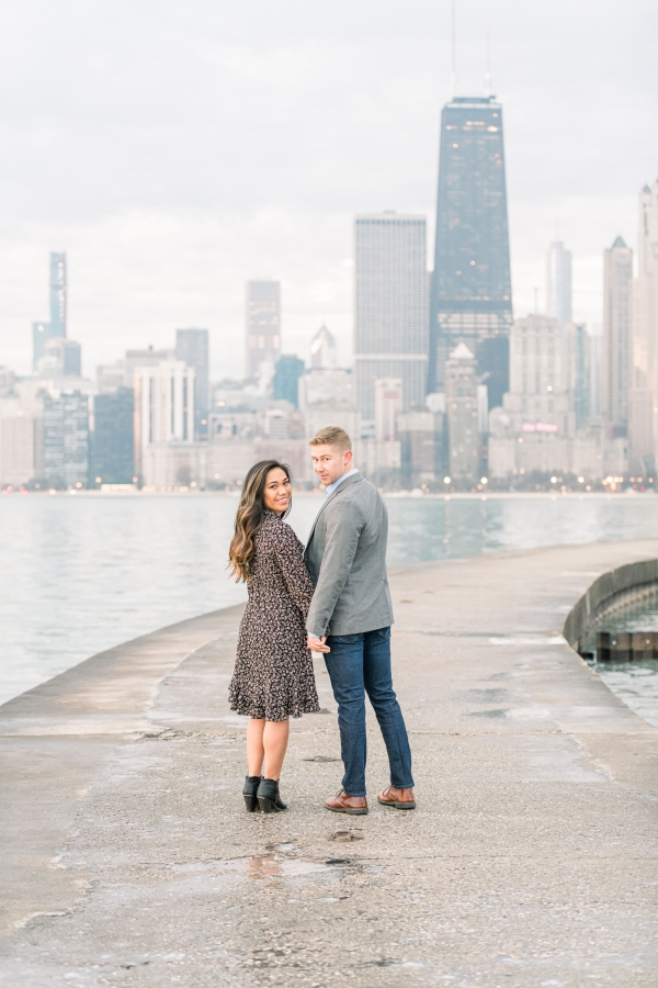 Melissa-Chris-North-Ave-Beach-Lincoln-Park-Chicago-Engagement-8